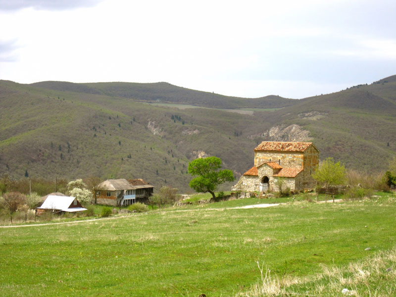 Chachubeti church in Kartli, Georgia