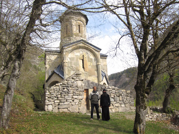 Ikvi Church, Rkoni region, Georgia