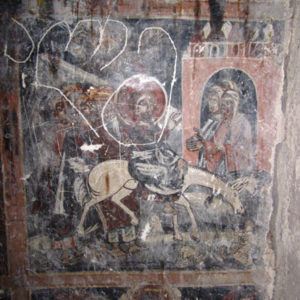 Maghalaant church frescoes, Kartli, Georgia