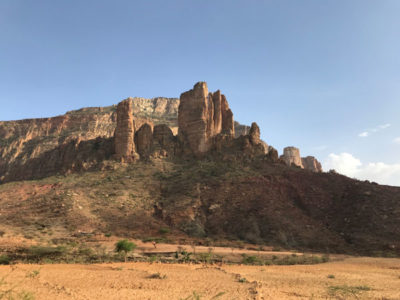 Hiking tour in Ethiopia