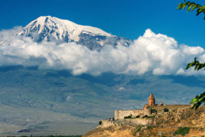 Khor Virap monastery is seen on the Ancient Christianity in the Caucasus cultural tour by John Graham Tours