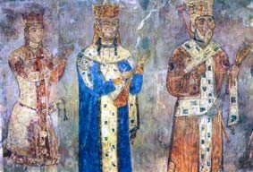 Frescoes of Queen Tamar (12th century)