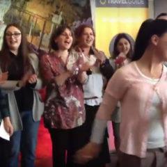 Flash Mob at Tourism Fair, ExpoCenter-Georgia