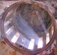 Kriste aghdga Christ is Risen Gelati dome