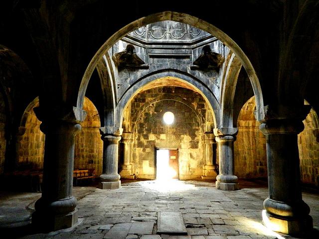 Haghpat Monastery cloister, Armenia
