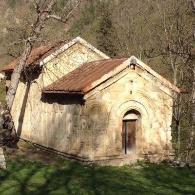 A second church at Rkoni Monastery complex