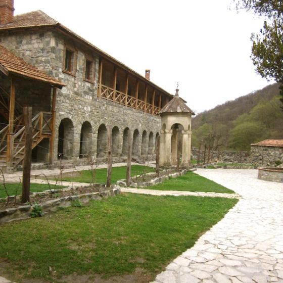 Kvatakhevi Monastery monastic cells