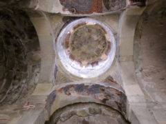 Dome inside Ikvi Church, Kartli