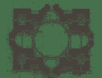 Jvari Monastery plan