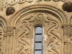 Nikortsminda window detail