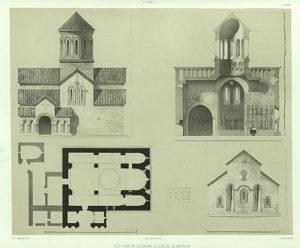 Betania Monastery Plan, Prince Grigory Gagarin (1847)