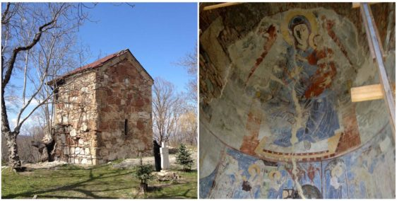 Easter chants at Kintsvisi Monastery
