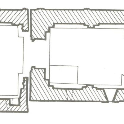Plan of St. John Baptist Church, Rkoni Monastery (13th c.)