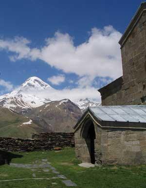 Gergeti Sameba Monastery, Kazbegi Georgia