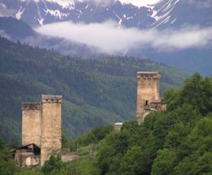Defensive Towers, Svaneti, Georgia